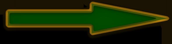 green arrow with glass trim