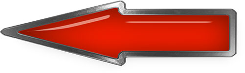 dark orange steel arrow glass