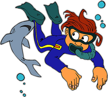 Free Scuba Diving Gifs - Diving Animations - Clipart