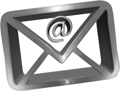 heavy metal 3D envelope for email