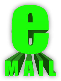 3D e-mail bright green