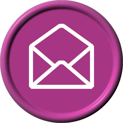 purple email clipart
