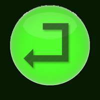 enter green png