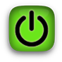 power icon green