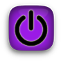 power icon purple