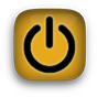 power icon yellow
