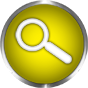 search icon yellow glass