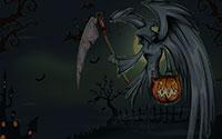 grim reaper with bats