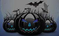 scary jack-o'-lanterns