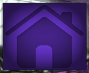purple home button rectangular with frame