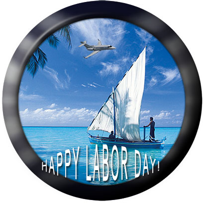 sailboat on Labor Day