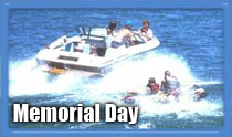 boating on memorial day