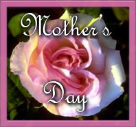 Mother's Day with pink rose