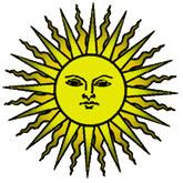 sun face design