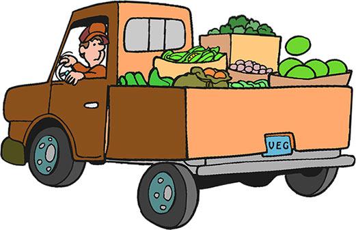 Clip Art Clip Art Truck truck clipart gifs free produce truck