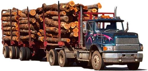 pulpwood truck